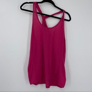 🍒 Apire Knot Back Active Tank Top L